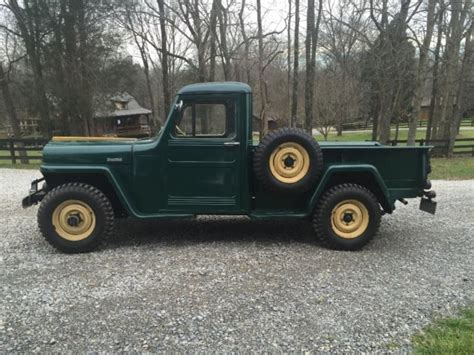 willys jeep pickup for sale 1947 willys 4x4 jeep truck for sale photos technical
