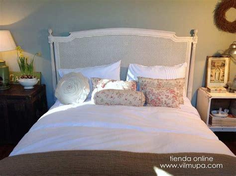 vilmupa cabecero blanco en  dormitorio romantico