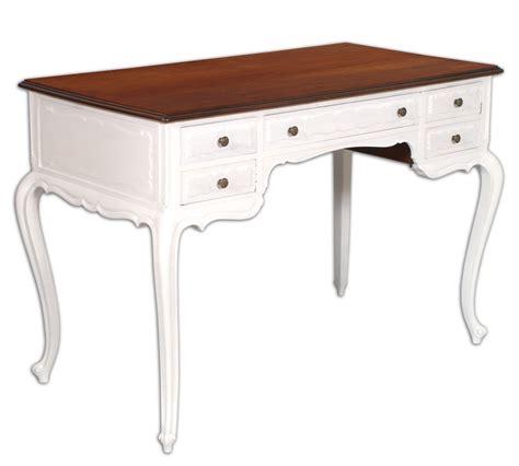 scrivania shabby scrittoio scrivania shabby chic barocco mosso bianco piano