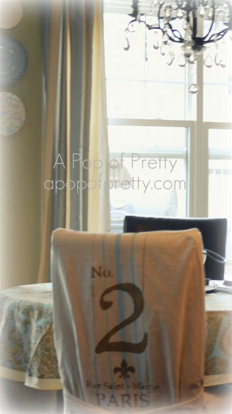 diy how to make a dining chair slipcover without sewing