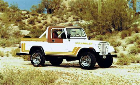 jeep scrambler 1982 car and driver