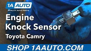 How To Install Replace Engine Knock Sensor 1992