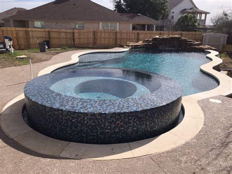 negative edge spa   beautiful  form design pool yelp