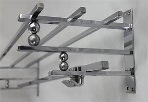 Garderobe Art Deco : art deco garderobe wandgarderobe chrom art design ~ Michelbontemps.com Haus und Dekorationen