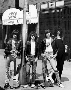 Ramones! In front of CBGB's | Muse-ick | Pinterest