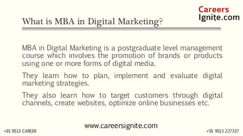 mba in digital marketing mba in digital marketing courses colleges eligibility