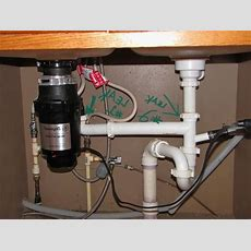Kitchen Sink Plumbing Rough In Diagram With Garbage