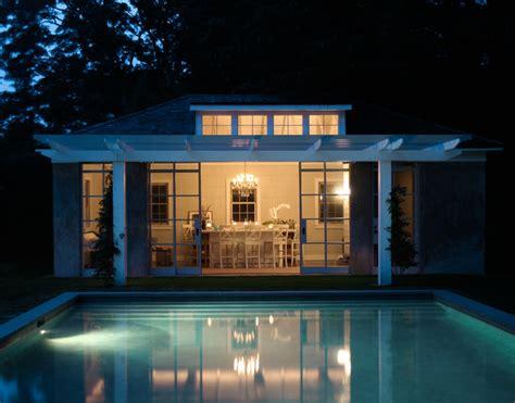 east hampton pool house contemporary pool  york