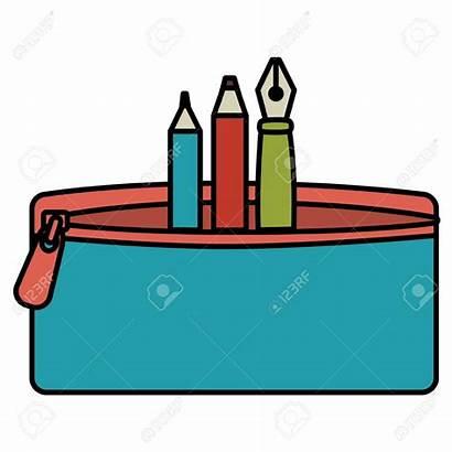 Pencil Case Clipart Cartoon Clipartix Pen