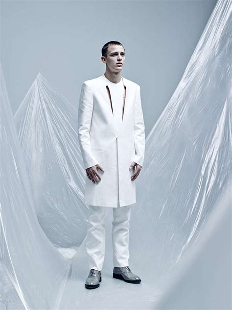 futuristic saran wrap editorials  sun stage fashion