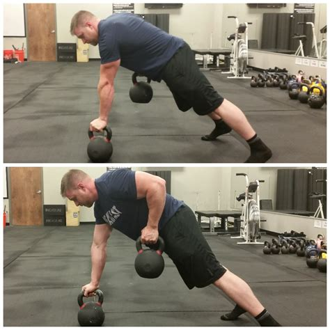 kettlebell bestrong pulling reach arm base while