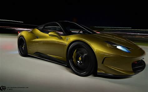 gold ferrari wallpaper gold ferrari wallpaper image collections wallpaper and