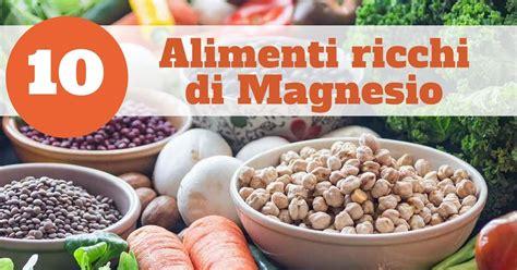 alimenti ricchi in magnesio 10 alimenti ricchi di magnesio riducono il rischi di