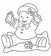 hd wallpapers baby girl coloring pages to print - Baby Girl Coloring Pages Print