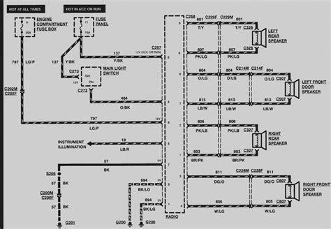 Mercury Mountaineer Radio Wiring Diagram Free