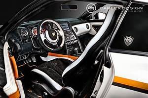 Nissan Gtr Interieur : interni innovativi nissan gt r rivista da carlex design ~ Medecine-chirurgie-esthetiques.com Avis de Voitures