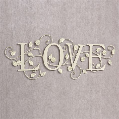 Custom decorative wall decal lettering for your home and wall decor. 20 Photos Metal Word Wall Art | Wall Art Ideas