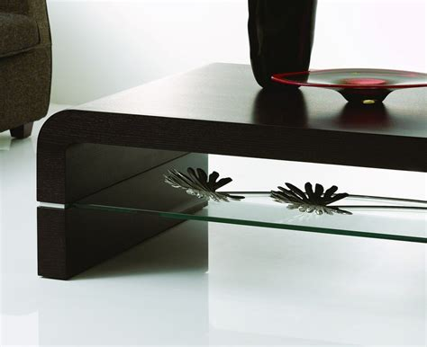 black contemporary coffee table modern black coffee table home azalea modern black oak