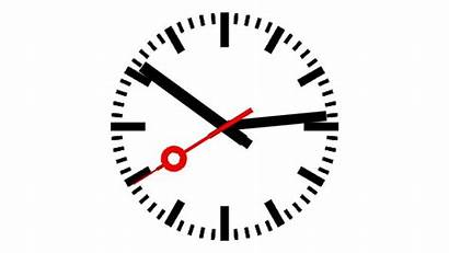 Clock Animated Ticking Clipart Background Clip Cliparts