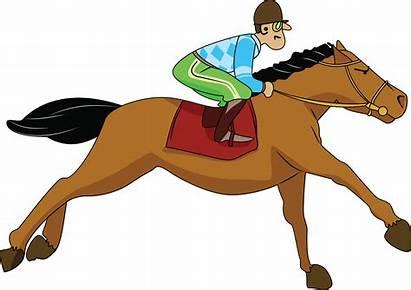 Clipart Gallop Jockey Clip Library Cliparts