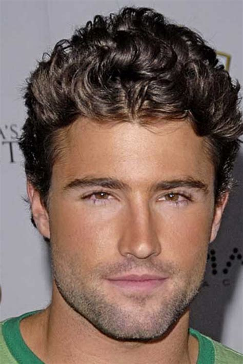 guy with curly hair mens hairstyles 2018