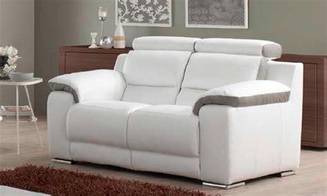 canapé 2 places relax électrique canapé relax pas cher salon trouvez votre canapé