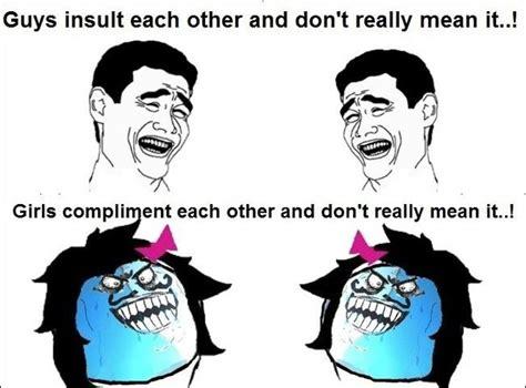 Boys vs Girls Meme