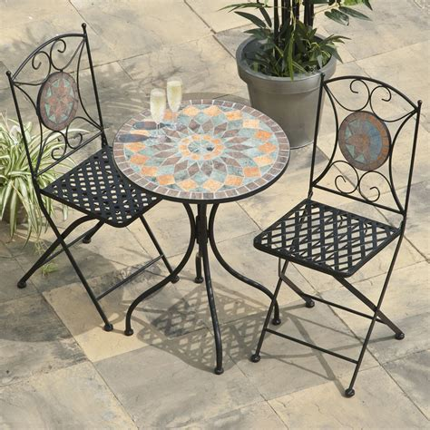 buy cheap blue mosaic table compare sheds garden