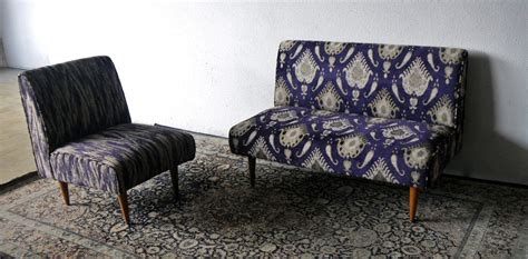 ikat settee second charm collections the of ikat and silk