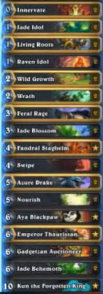 jade golem druid w kun the forgotten king hs decks and guides