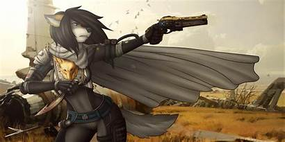 Furry Wallpapers Wolf Cool Anime Jessica Form