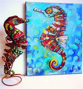 seahorses | Art by Joy A. Kirkwood | Page 3