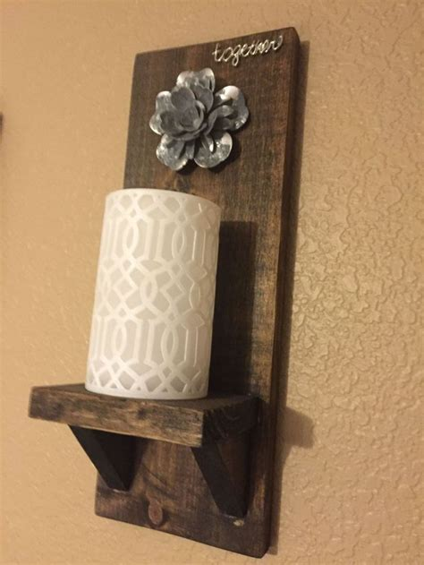 homemade wall sconces  double  wall decor hometalk