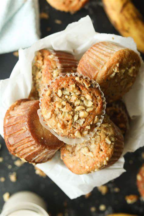 banana nut keto muffins easy flourless sugar