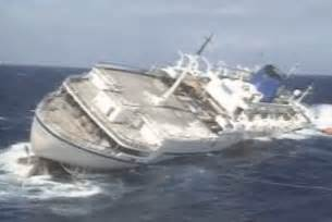 an overview of cruise ship accidents sunken ships