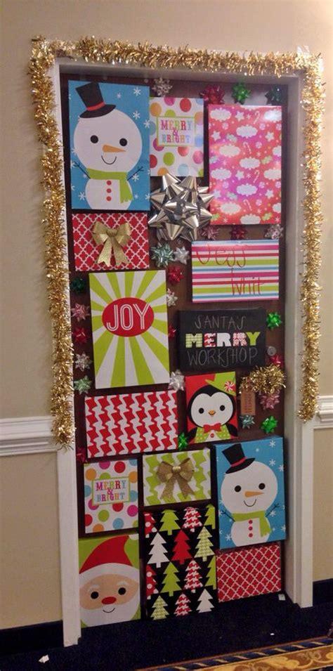 cute christmas door decoration ideas   holiday