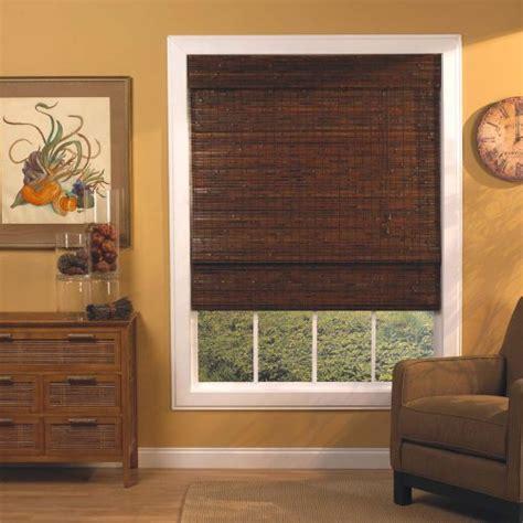 Radiance 0247560 Woven Wood Bamboo Roman Shade, 60inch