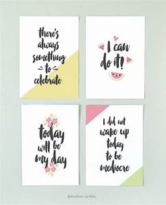 Wall art motivational quotes creative diy ideas