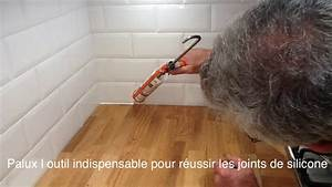 Faire Un Joint Silicone : comment faire un joint de silicone palux youtube ~ Dailycaller-alerts.com Idées de Décoration