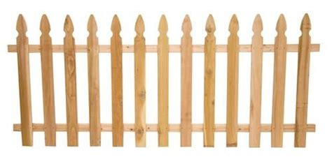 french gothic cedar spaced picket fence panel fence panels picket fence panels wood