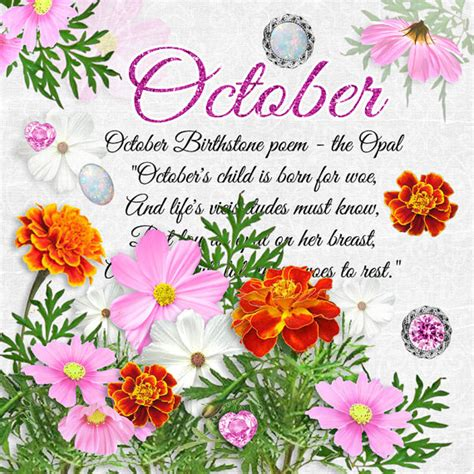 what is october s birthstone color what is october birthstone color and flower monthly