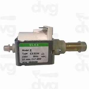 Ulka Vibration Pump Ex5 Gw 230v 50  60hz Brass Outlet