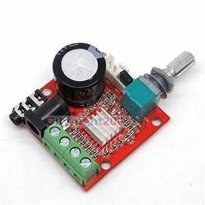 Dc 12 Mini Amplifier Board 10w   10w Class D Amplifier
