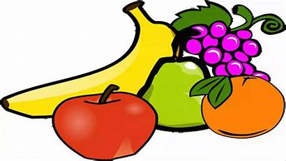 Fruit Clip Clipart Fruits Snack Cliparts Vegetable