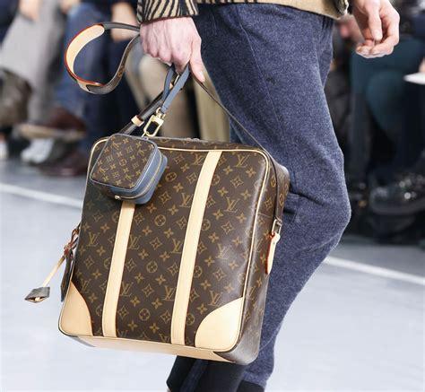 monogram   major comeback  louis vuittons fall  menswear show purseblog