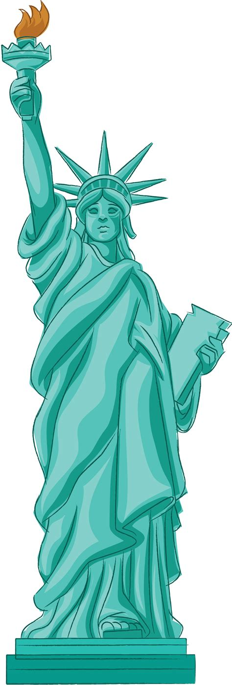 Statue Of Liberty Clipart Animated Statue Of Liberty Clip Bay