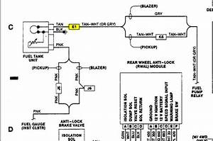 91 Chevy S10 Fuel Pump Wiring Diagram