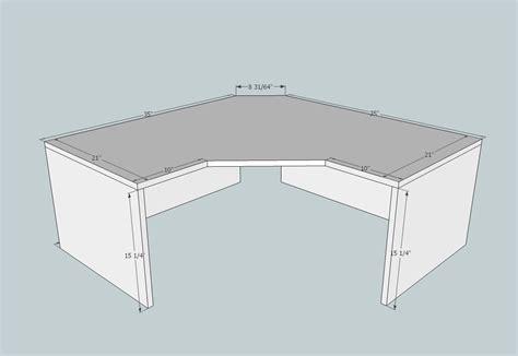 corner desk plans corner desk plans woodworking