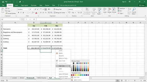 group sheets  excel magic trick  excel productivity
