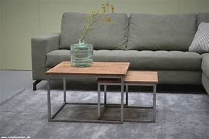 Couchtisch 2er Set : couch center online versandhandel 2er set mango holz metall couchtische ~ Whattoseeinmadrid.com Haus und Dekorationen